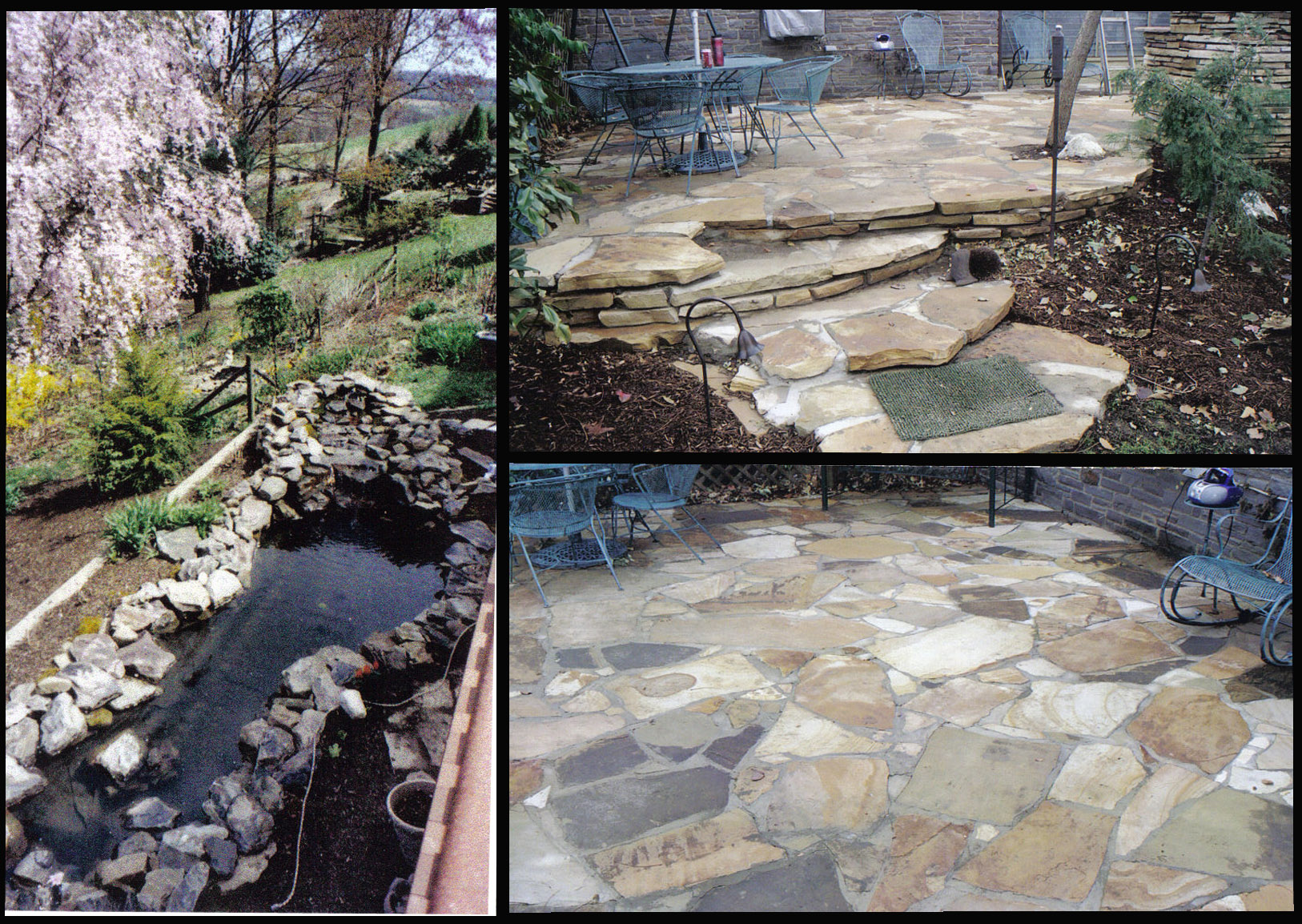 Landscape Edging Pittsburgh : Pittsburgh landscaping services rick page quality